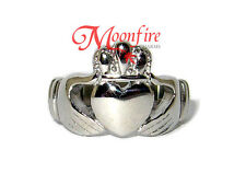 BUFFY THE VAMPIRE SLAYER BUFFY ANGEL CLADDAGH RING COUPLE RINGS STAINLESS STEEL