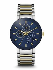 Bulova 98C123 Mens Two Tone Stainless Steel 40mm Case Watch