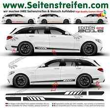 MERCEDES Benz C Classe s205 - 507/EDITION 1 pages Bandes Autocollant set 2016