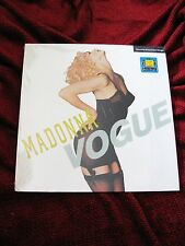 "Madonna SEALED Picture VOGUE Record #1 SINGLE Promo Rebel Heart Tour Disc 12"" LP"