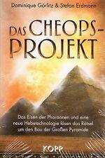 DAS CHEOPS-PROJEKT - Dominique Görlitz & Stefan Erdmann - KOPP VERLAG BUCH - NEU
