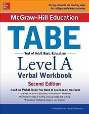 McGraw-Hill Education TABE Level a Verbal Workbook by Phyllis Dutwin and...