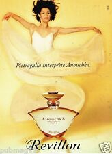 Publicité Advertising 1995 Parfum Anouchka Revillon avec Pietragalla
