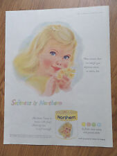 1959 Northern Toilet Tissue Ad  Little Yellow Hair Girl