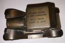 OLD OLD OLD Preferred Savings & Loan Association Chicago, IL Metal Car