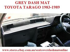 DASH MAT, DASHMAT, DASHBOARD COVER FIT  TOYOTA TARAGO 1983-1989, GREY