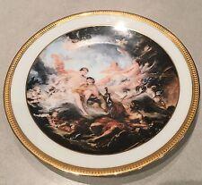Assiette Porcelaine Limoges Toile De Boucher (vulcain,Venus,Enée)Collection