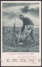 MILITARE 1a GUERRA 65 PATRIOTTICA - Fiume PIAVE - D'ANNUNZIO Cartolina