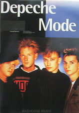 DEPECHE MODE STICKER Vintage 'Band Pic M. Hat' OLIVER BOOKS 1994 UK Retail Mint