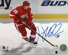 "DREW MILLER DETROIT RED WINGS SIGNED 8""x10"" PHOTO w/ COA"