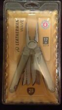 BRAND NEW Leatherman Tool Group   Wave 17-in-1 Multi-Purpose Tool 830837