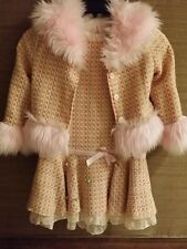 Darling girls pageant interview suit casual/ wear sz 5/6 OOC Little Mass
