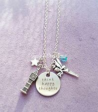 Collana Peter Pan Trilly Disney think happy thoughts Uncino cartoni stelle OUAT