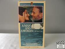 A Man and a Woman: 20 Years Later VHS Richard Berry; Lelouch; FRE w/ ENG SUB