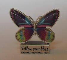 m Follow your Bliss BUTTERFLY BLESSINGS FIGURINE ganz happiness inspiration