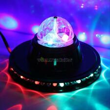 Crystal Rotating Magic Ball RGB LED Club Pub Disco Party KTV Stage Effect Light