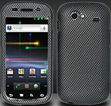 For Samsung Nexus S Hard Rubberized Protector Case Snap Phone Cover Carbon Fiber