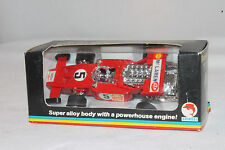 SHINSEI JAPAN JET MACHINES #4401 FORD MCLAREN, RED, NEW IN BOX