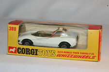 CORGI WHIZZWHEELS #380 ALFA ROMEO PININFARINA P.33, EXCELLENT, BOXED, LOT B