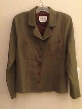 Byer Too Gray Tone Long Sleeve Button Up Shirt Size 11