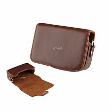 12Z Learther Camera Case For Canon Powershot SX230 IS SX220 IS SX210 IS