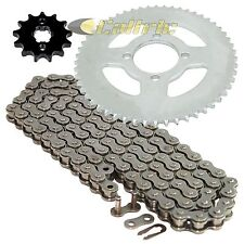 Drive Chain & Sprockets Kit Fits YAMAHA TT-R125L TT-R125LE 2002-2016