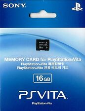 New Original Official Genuine PSV Playstation Sony PS Vita 16GB Memory Card