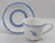Villeroy & and Boch CASA AZUL espresso cup and saucer UNUSED