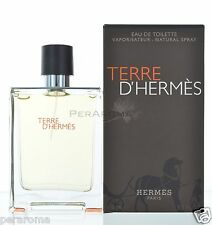 Terre D'hermes by Hermes for Men Eau De Toilette 3.4 / 3.3 OZ 100 ML Spray