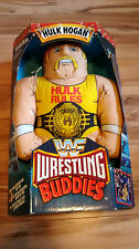Hulk Hogan WWE WWF Wrestling Buddie - 80s original toy STILL SEALED * * RARE * *