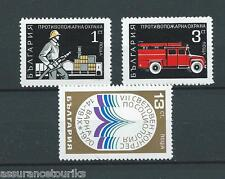 BULGARIE - 1970 YT 1811 à 1813 - TIMBRES NEUFS** LUXE