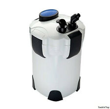 SUNSUN HW-302 3-STAGE EXTERNAL CANISTER FILTER 264 GPH UP TO 75 GALLON W/ MEDIA