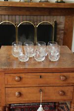 Set of 11 Vintage Cocktail Glasses (Goblets)-Mid Century or Older