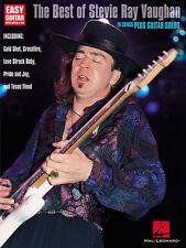 Stevie Ray Vaughan Best Of Easy Guitar Tab Book NEW!