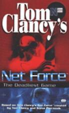 Net Force: The Deadliest Game  by  Tom Clancy  (1999, Softcover)