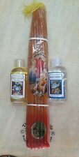 REAL bees wax 33 Candles, holy water, oil blessed from Holy Sepulchre Jerusalem