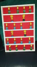 ** New **  toy mini figures wall display rack, lego-smurfs-etc