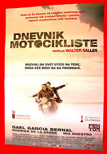 MOTORCYCLE DIARIES 2004 CHE GUEVARA WALTER SALLES UNIQUE SERBIAN MOVIE POSTER