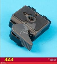 Manfrotto 323 RC2 System Quick Release Adapter with 200PL-14 Plate Replace #3299