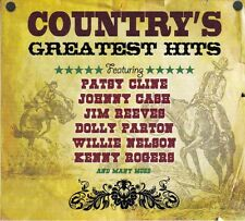 COUNTRY'S GREATEST HITS - PATSY CLINE-JOHONNY CASH & many more (NEW SEALED 3CD)
