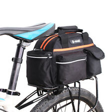 15L Cycling Bicycle Bike Rear Seat Rack Pack Storage Trunk Bag Handbag Pannier