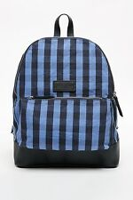 New Jack Wills backpack/rucksack/navy check/fashion/school bag/durable/men/women