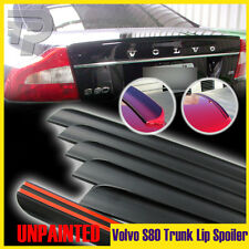 Unapinted Volvo S80 V8 T6 2nd Sedan 4DR Rear Trunk Lip Spoiler Wing 2007-2012
