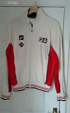mens vintage fila track top
