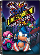 Sonic Underground, Vol. 1 (2013, REGION 1 DVD New)