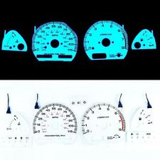INDIGLO GLOW GAUGE DASH WHITE FACE EL CLUSTER FOR NISSAN 240SX 89-90