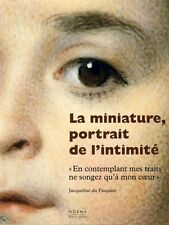 La Miniature, Miniature Portrait painting, French book