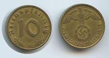 G7073 - Drittes Reich 10 Reichspfennig 1936 A (J.364) SEHR RAR Third Reich