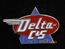DELTA AIR C & S AIRLINES HAT LAPEL PIN UP AIRLINE WING PILOT CREW GIFT AIRLINE