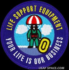 USAF 80TH FLYING TRAINING WING - LIFE SUPPORT EQUIPMENT- ORIGINAL PATCH